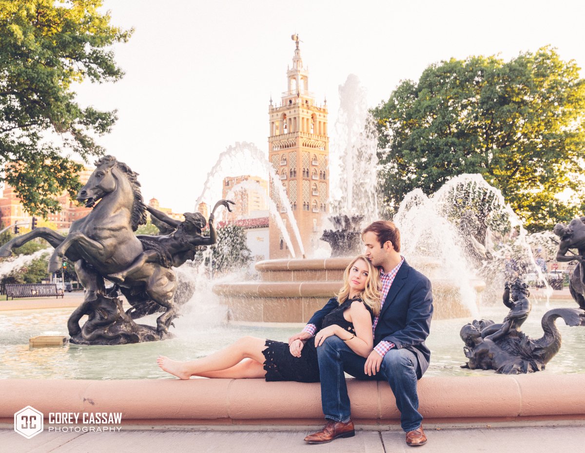 Rachel & Adam – a classic KC engagement
